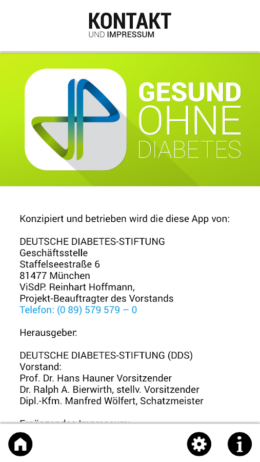 Gesund ohne Diabetes- screenshot