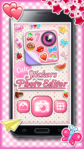 Cute Stickers Photo Editor