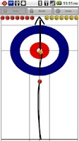 Screenshot of Curling Strategy Board
