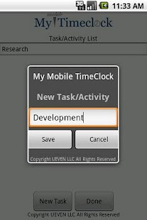 My Mobile TimeClock - screenshot thumbnail