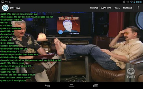 Nexus TWiT.tv Live - screenshot thumbnail