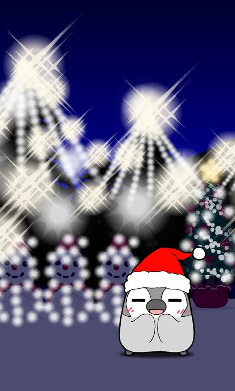 Pesoguin LWP Christmas Penguin - screenshot
