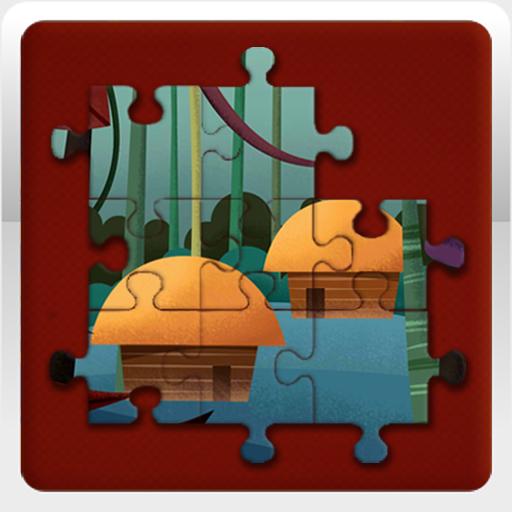 Jigsaw Rumah Adat 休閒 App LOGO-APP試玩