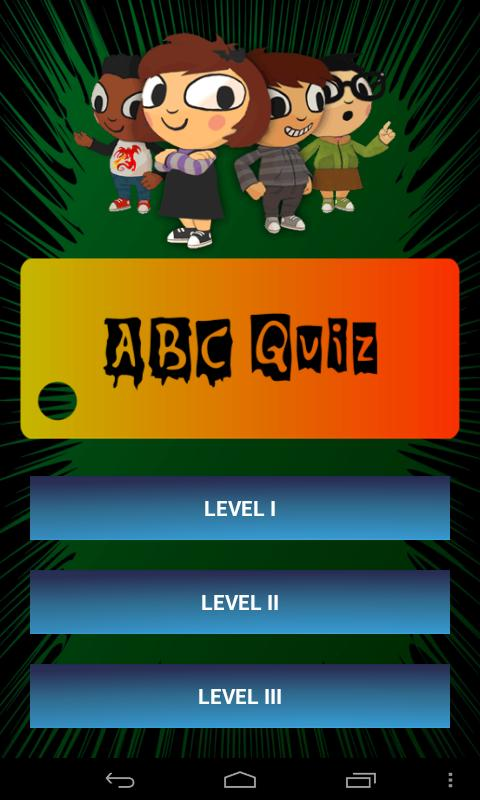 ABC Alphabet Phonics Quiz Free - screenshot