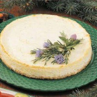 Savory Swiss Cheesecake.