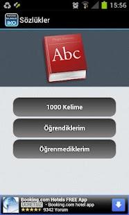 İngilizce Kelime Öğreniyorum- screenshot thumbnail