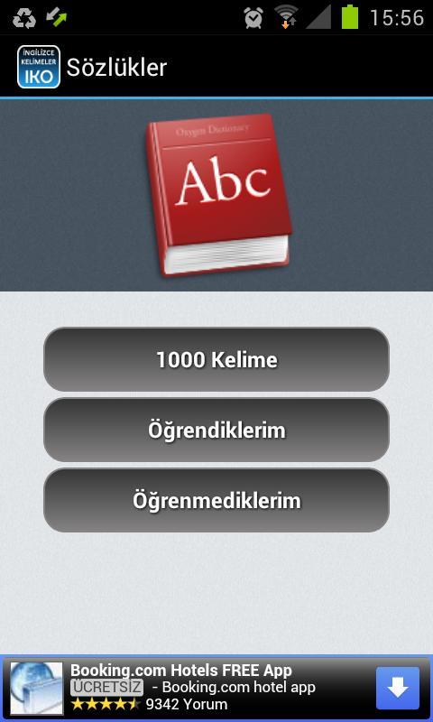 İngilizce Kelime Öğreniyorum- screenshot