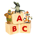 Kids Animal ABC Alphabet sound logo