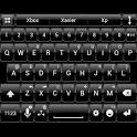 Theme for A.I.type Dusk Black icon