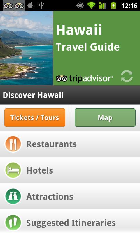 Hawaii Travel Guide screenshot #1