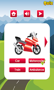Kids Learning Vehicles - screenshot thumbnail