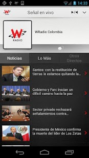WRadio Colombia para Android