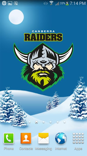 Canberra Raiders Snow Globe