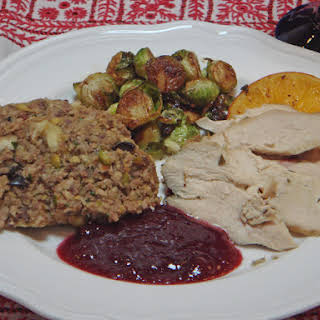 Chestnut, Pork and Nut Stuffing - My family's traditional recipe.