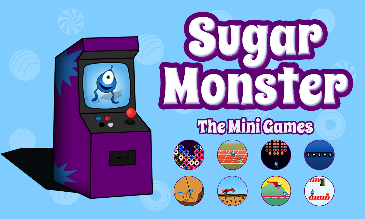 Sugar Monster - The Mini Games- screenshot