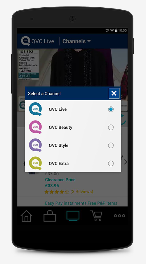 QVC (UK) - screenshot