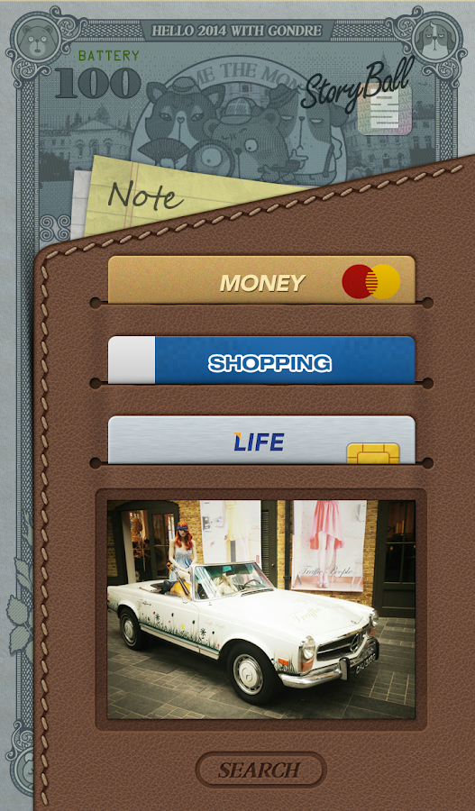 Get Rich Buzz Launcher Theme - screenshot