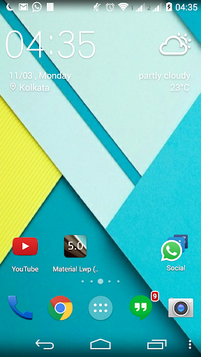 Material Lwp Android 5.0