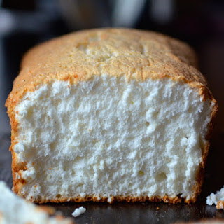 Vanilla Bean-Orange Angel Food Cake