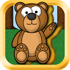 Kids Animal Puzzles - Golden icon