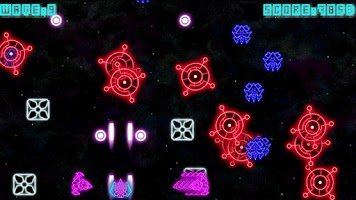 Screenshot of Neon Wave - Space War Shooter