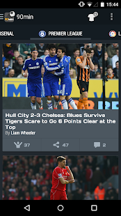 90min - The Football News App- screenshot thumbnail