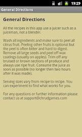 Juice Diet Recipes Screenshot 5