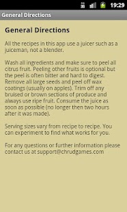 Juice Diet Recipes Screenshot 5