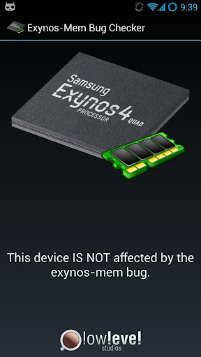 【免費工具App】Exynos Mem Bug Checker-APP點子