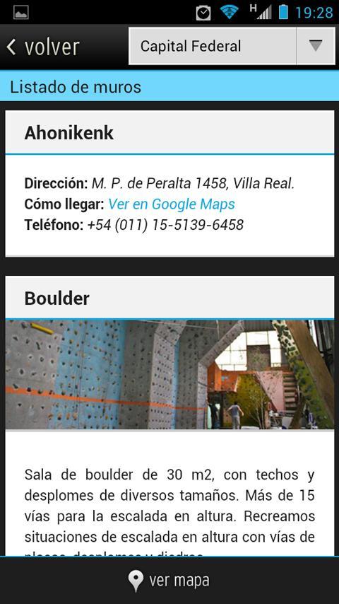 AltaGuía - Muros de Argentina - screenshot