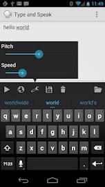 Type and Speak Screenshot 1