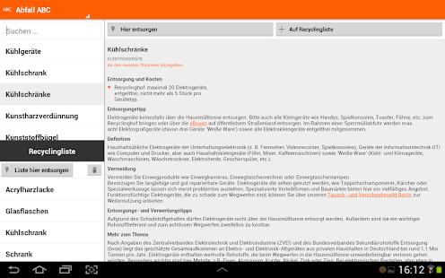 Abfall-App | BSR Screenshot 26