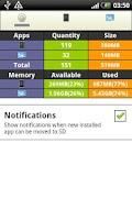 Screenshot of APP2SD Easy - Clean & Optimize