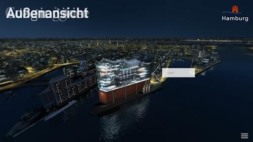 Elbphilharmonie Hamburg 3D