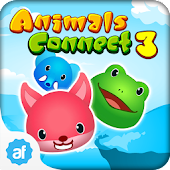 Animals Connect 3 Free