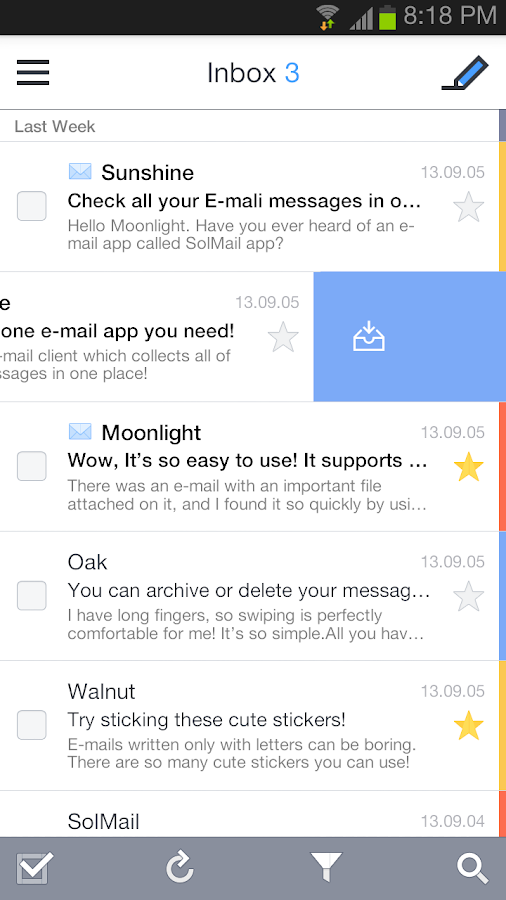SolMail - All-in-One mail app - screenshot