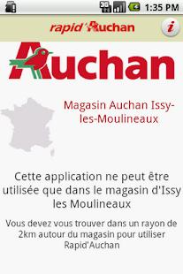 Rapid Auchan– Vignette de la capture d'écran