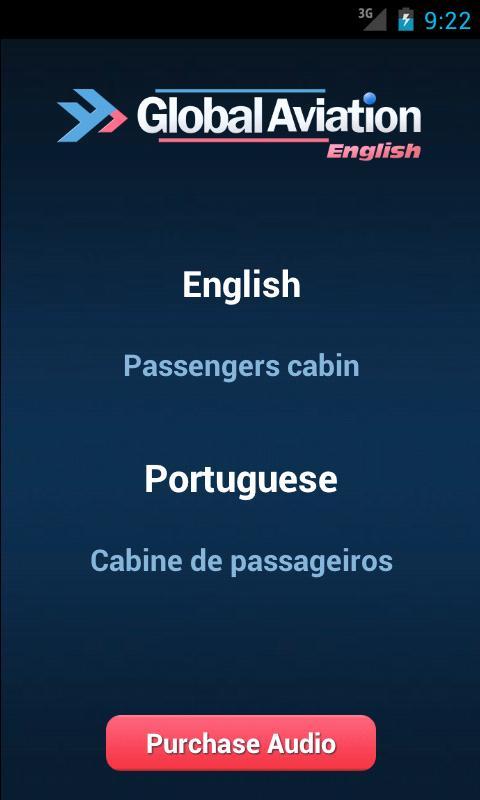 Aviation English Portuguese- screenshot