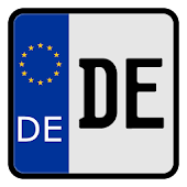 German Registration Plates