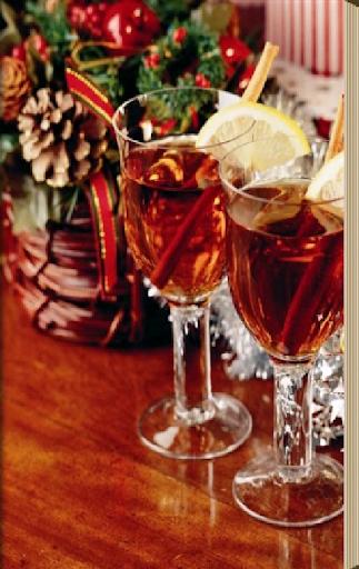 Новогоднии коктейли