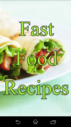 Fastfood Recipes