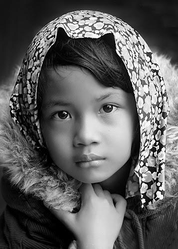 by Yudi Prabowo - Black & White Portraits & People ( woman, b&w, portrait, person,  )