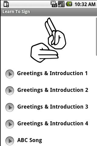 Learn Sign Language - screenshot