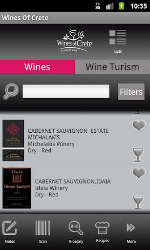 WinesOfCrete: Wine Tourism App