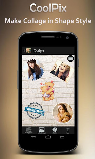 Coolpix : Shape Collage Maker