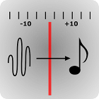 Stimmgerät - PitchDetectorFree icon