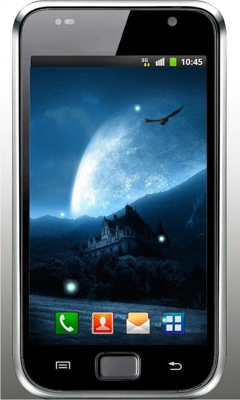 Gothic Moon HD Live Wallpaper - screenshot