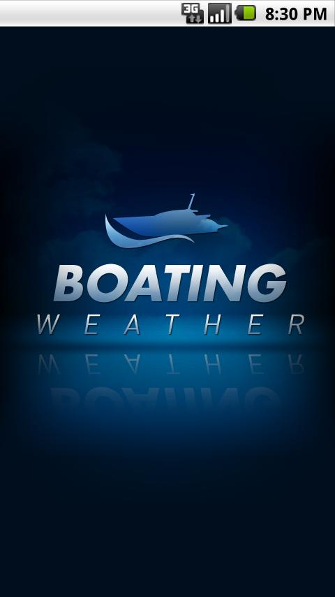 Boating Weather - screenshot