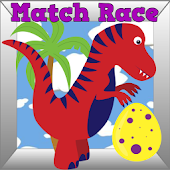 Dinosaur Toddlers Match Race