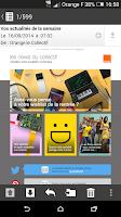 Screenshot of Mail Orange